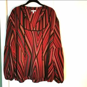 🔥2 for $20 - Maurice blouse, size 20/22